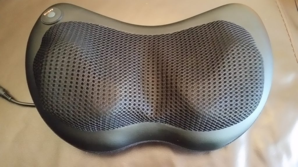 Naipo massage cushion with heating function deactivated